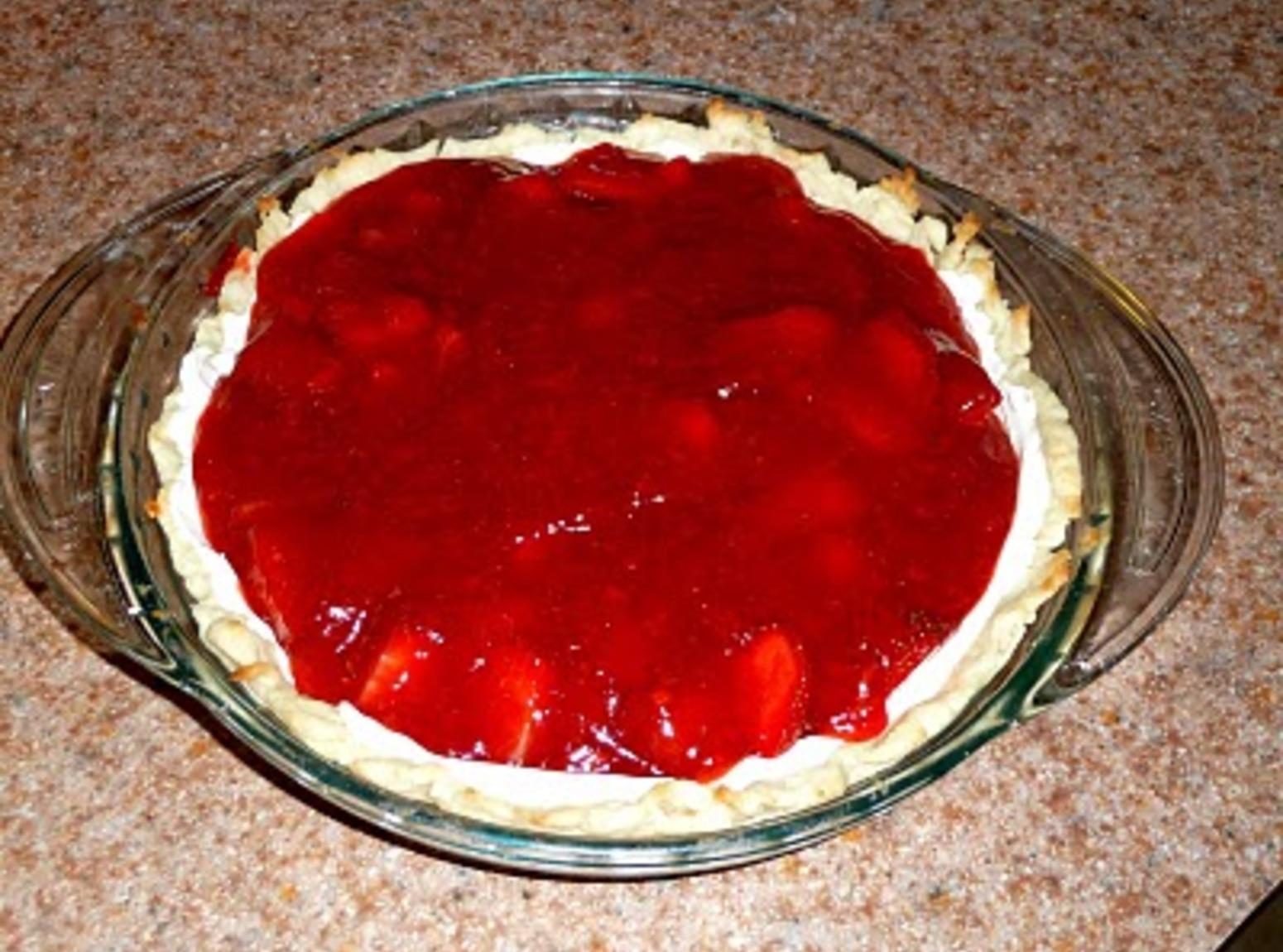 Creamy Strawberry Pie Recipe
