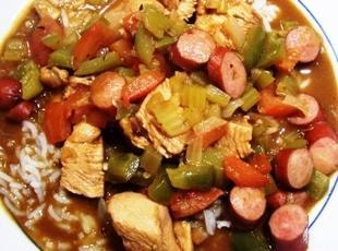 Chicken & Andouille Gumbo Recipe