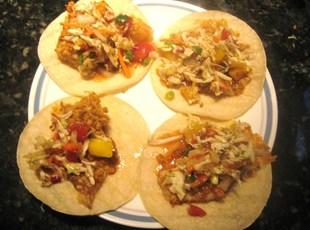 Tilapia Fish Tacos W/ Fruity Salsa Recipe