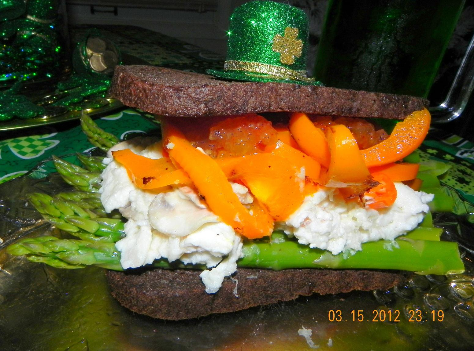 Irish Pride Flag Sandwich Recipe