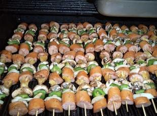 KIELBASA  KABOBS for a crowd Recipe