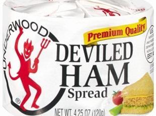 Deviled Ham Puffs Recipe
