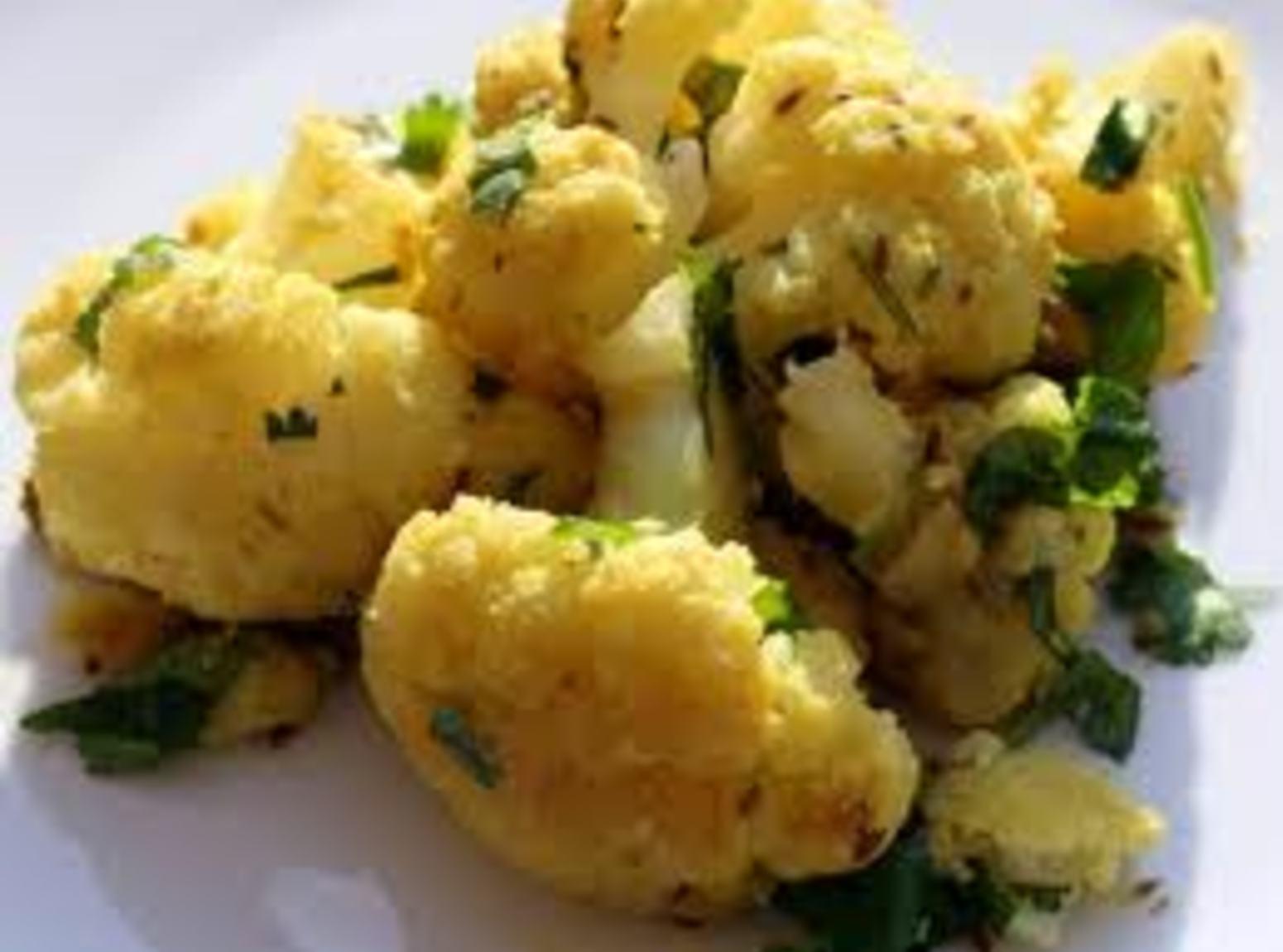 Healthy Ginger-Cumin Cauliflower Recipe