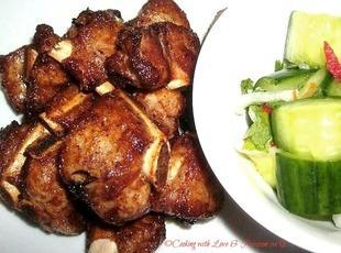 Deep Fried Thai Spicy Pork Ribs Recipe