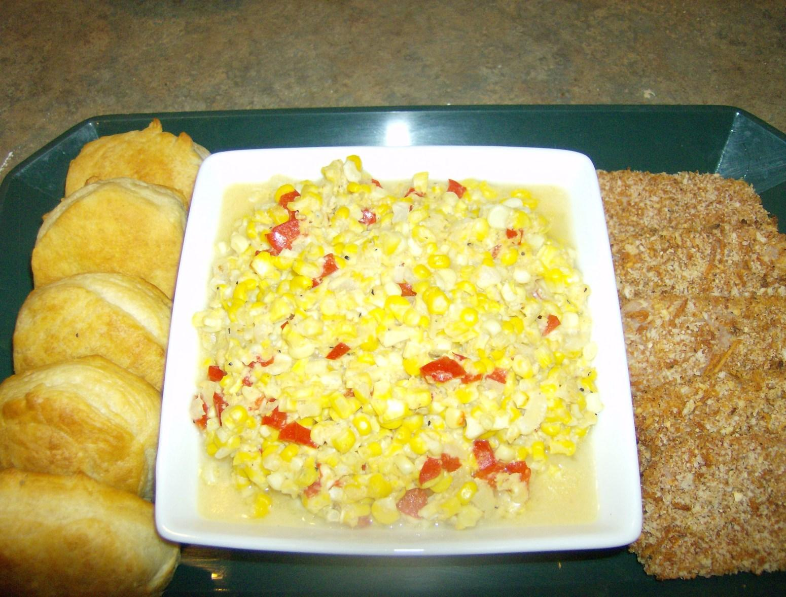 Mama's Fried Corn (Cream Style Corn) Recipe
