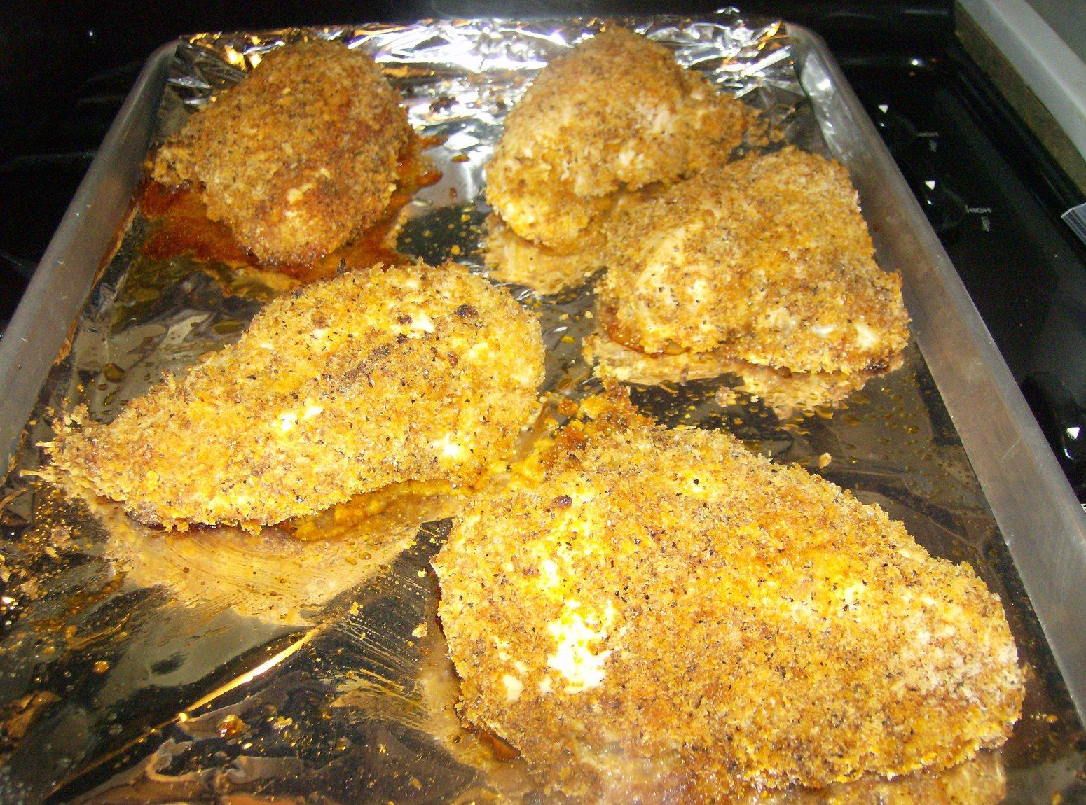 Rose Mary's Panko Breaded Chicken Recipe