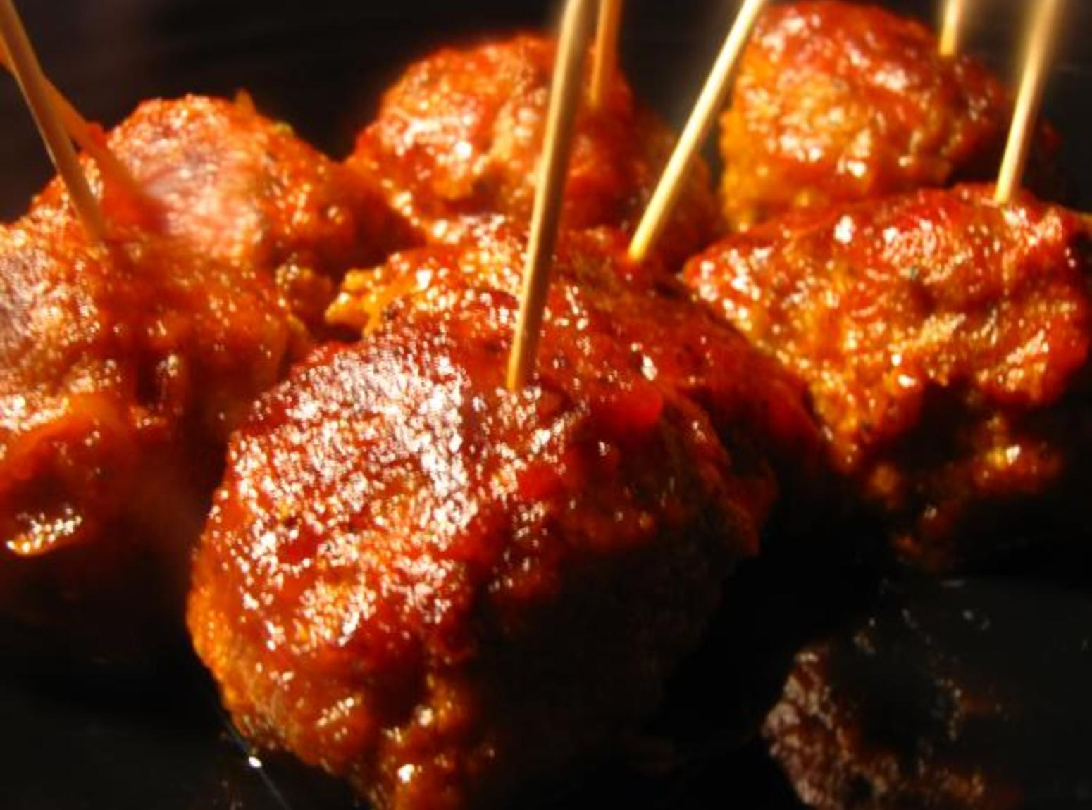 Hot & Spicy B-B-Q Meatballs Recipe