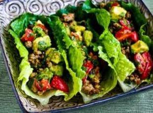 Taco Lettuce Wraps Recipe