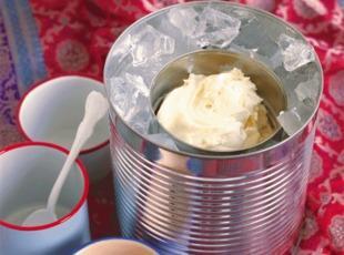 Homemade Ice Cream in a Coffee Can Recipe