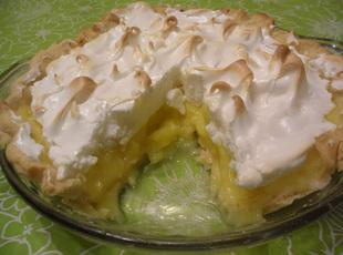 Luscious Lemon Pie Filling Mix(and Pie) Recipe