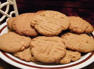 Ol' Fashioned Peanut Butter Cookies