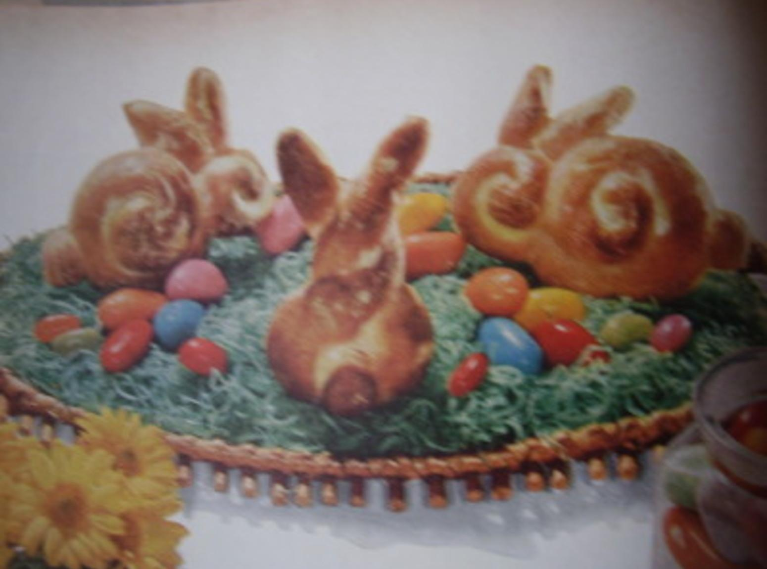 Hopping Easter Bunny Bread Recipe
