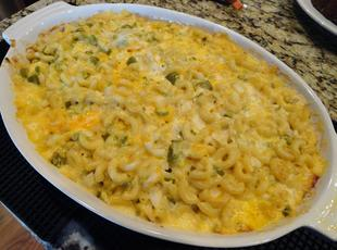 Mac & Cheese with Veggies Recipe