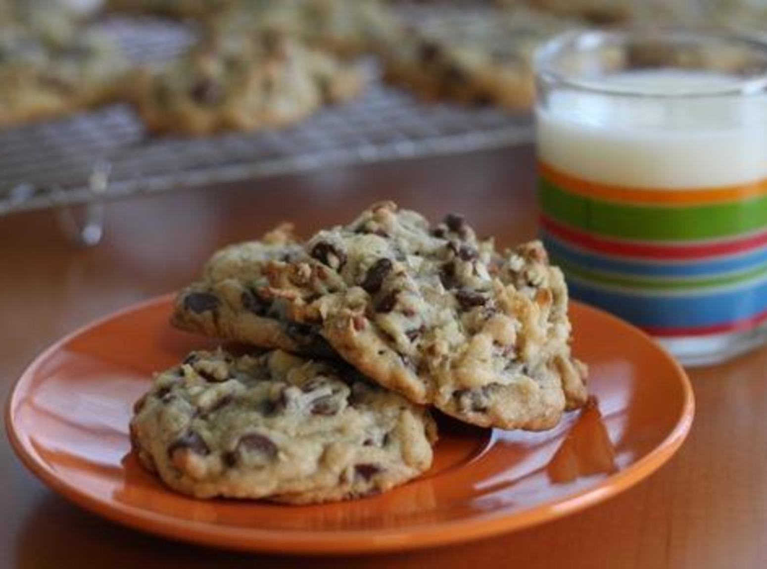 Coconut Pecan Chocolate Chip Cookies by Freda Recipe