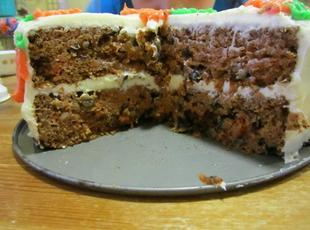 Super moist carrot cake!!!! Recipe