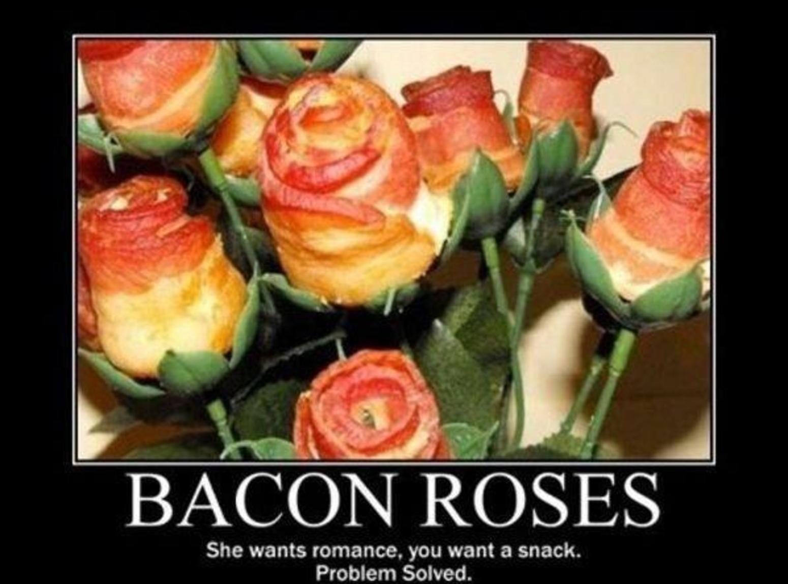 Bacon Roses Recipe