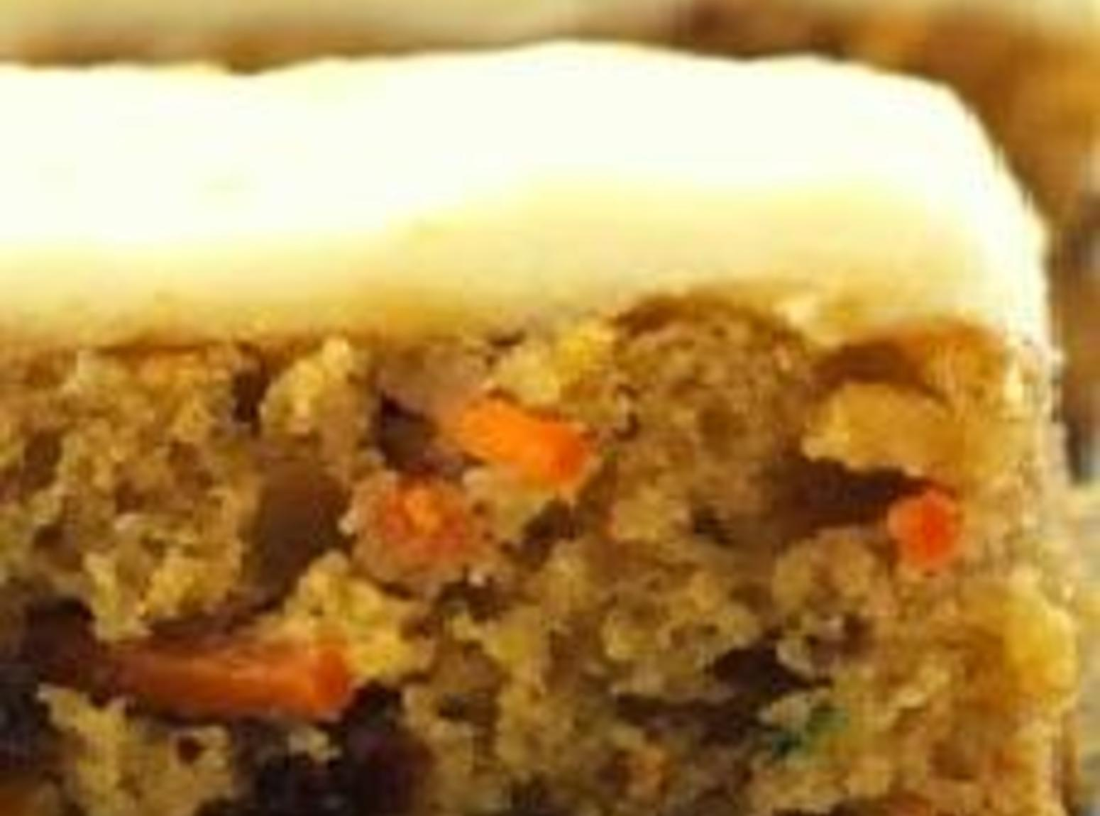 Carrot Zucchini Bars with Lemon Lime Frosting Recipe