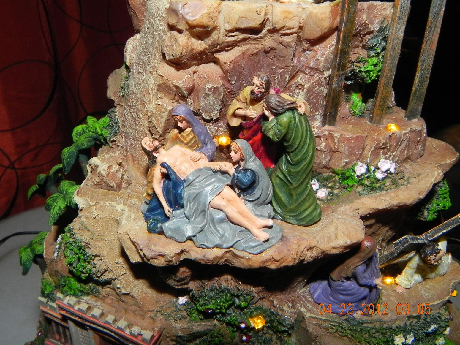 Thomas Kinkade Story Of Christ Sculpture Recipe