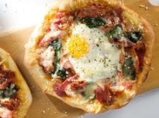Puff-egg-ly Pizza Recipe