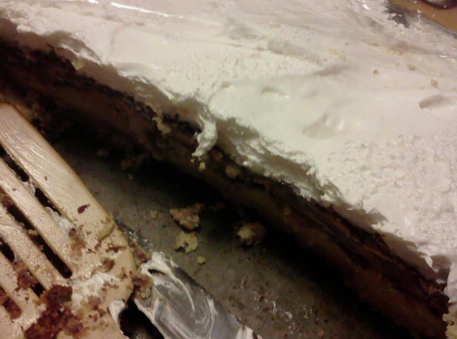 carmel.choc/mint/peanut butter filled butter cake Recipe