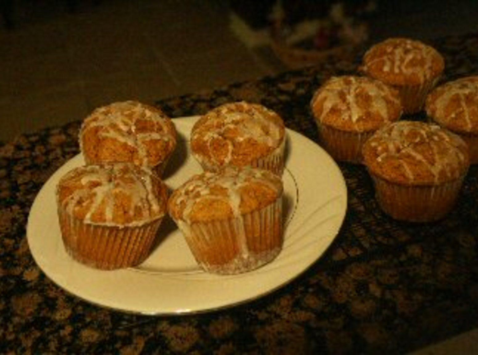 Jumbo Pumpkin Muffins Recipe