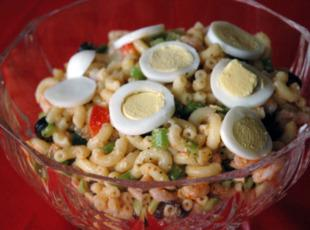 Shrimp Pasta Salad - Waco Style Recipe
