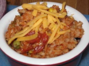 Hearty Spanish Rice Recipe