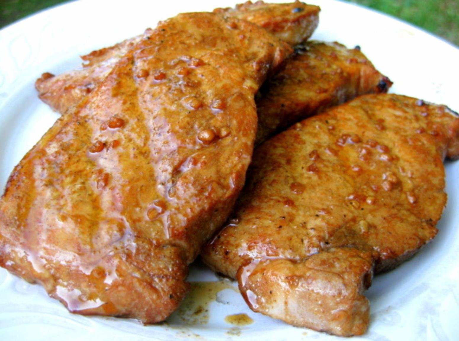 Cumin Grilled Pork Chops Recipe