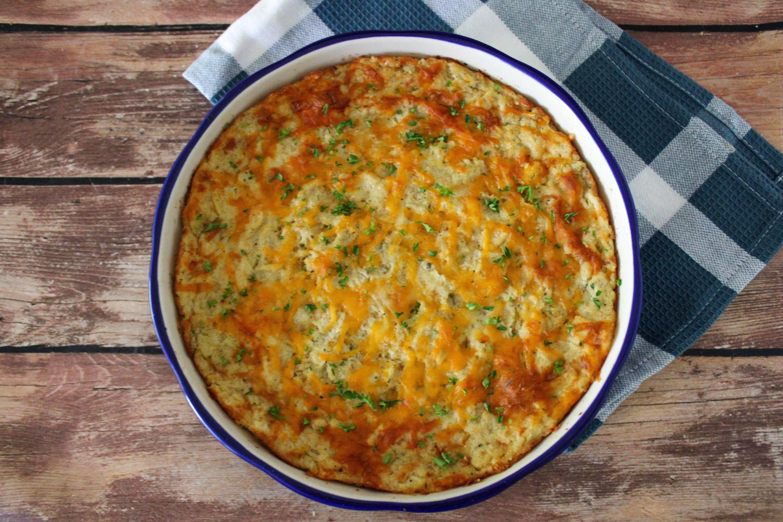 Cheesy Mashed Potato Bake Recipe