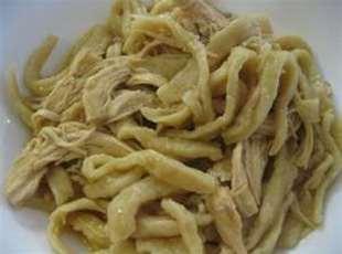 My Mom's Homemade Noodles Recipe