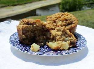 Graham Pear Muffins Recipe