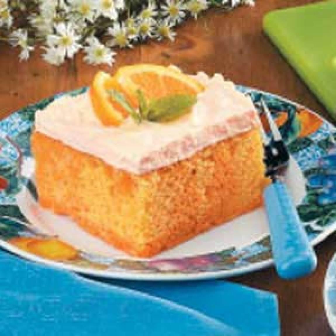 Orange Creamsicle Cake Recipe
