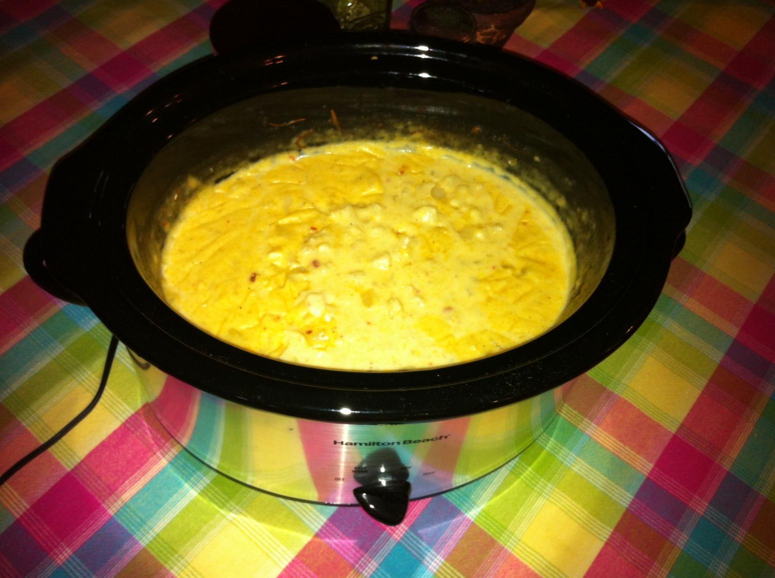 Hash Brown Potato Soup (Crock Pot) Recipe