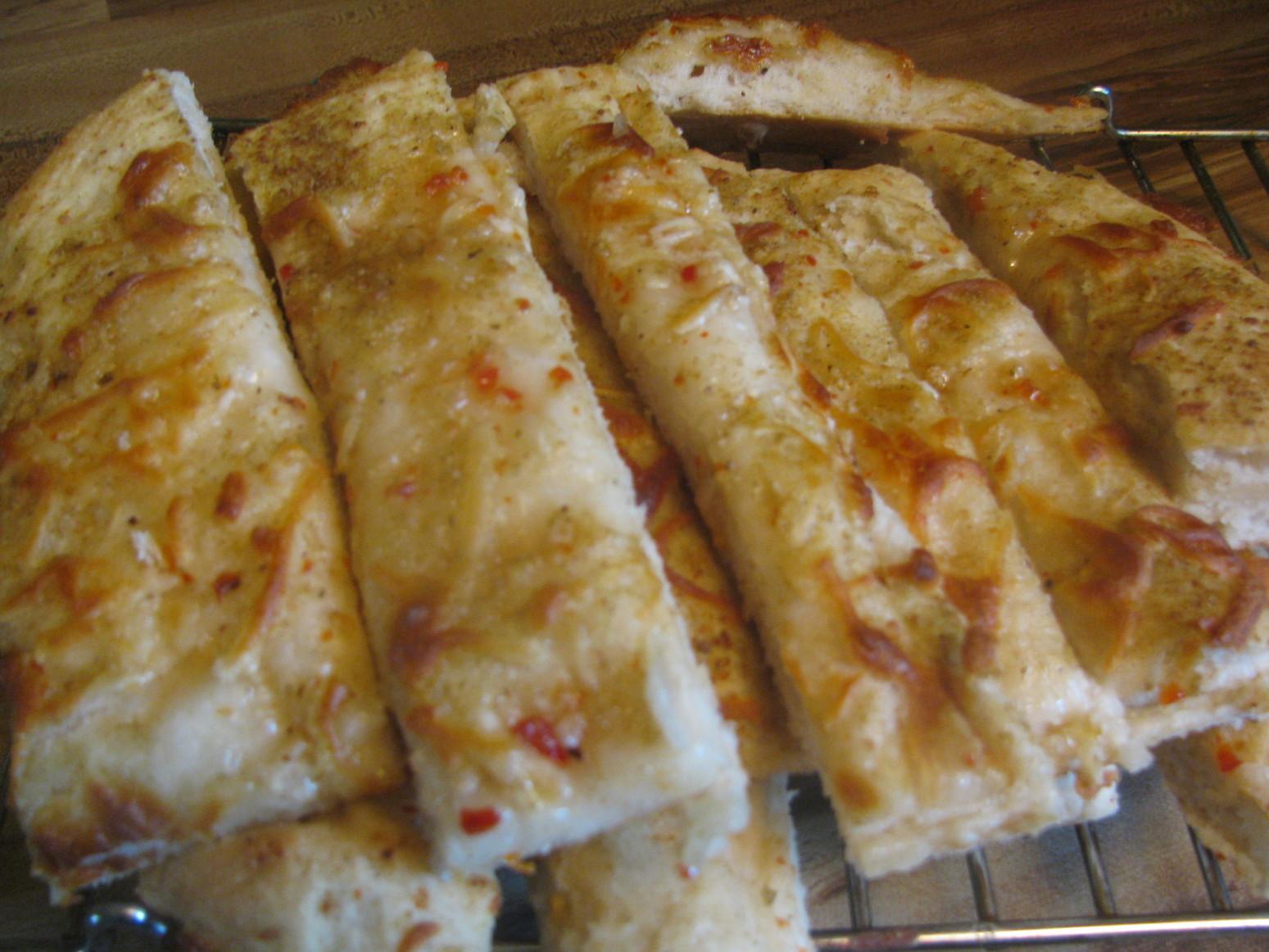 Italian Cheese Bread Sticks Recipe