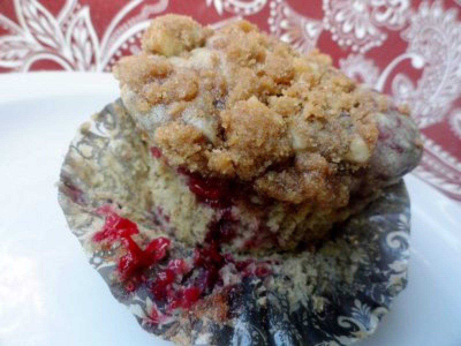Raspberry Struesel Muffins Recipe