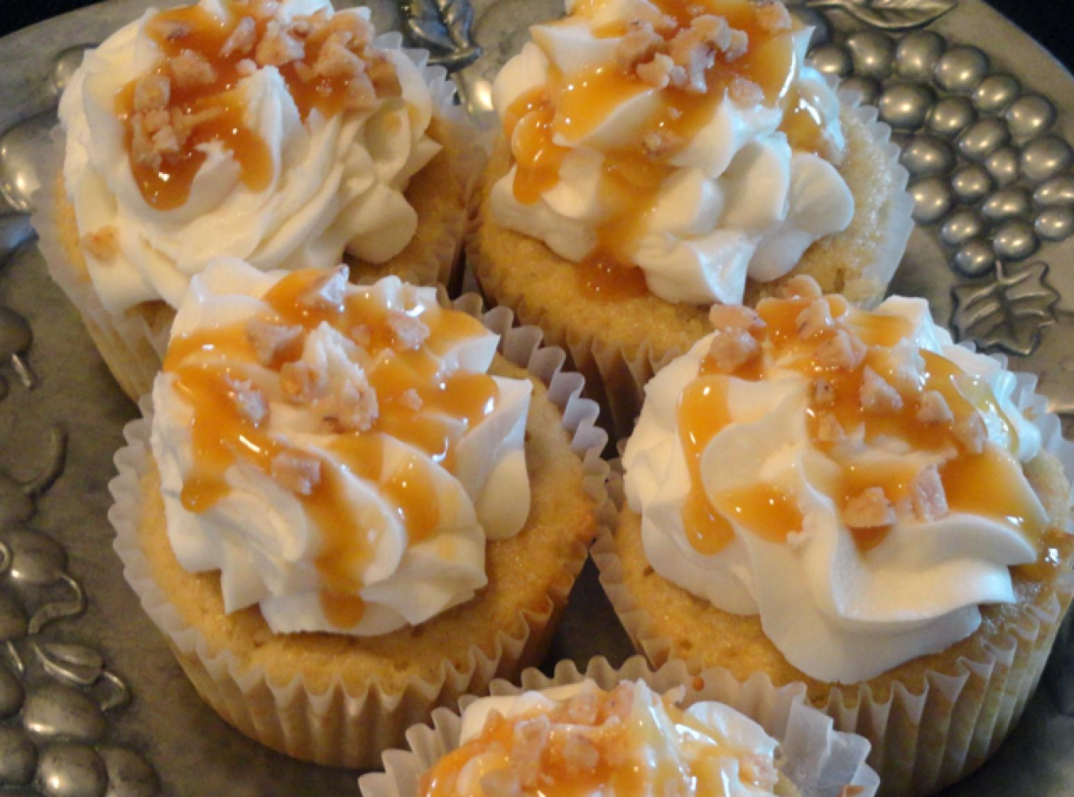 Toffee Crunch Cupcakes Recipe