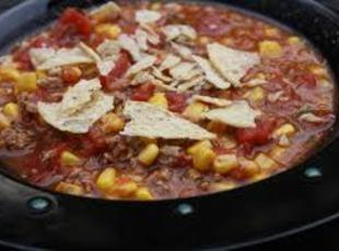 Crock Pot Southwest Beef Chili Stew Recipe