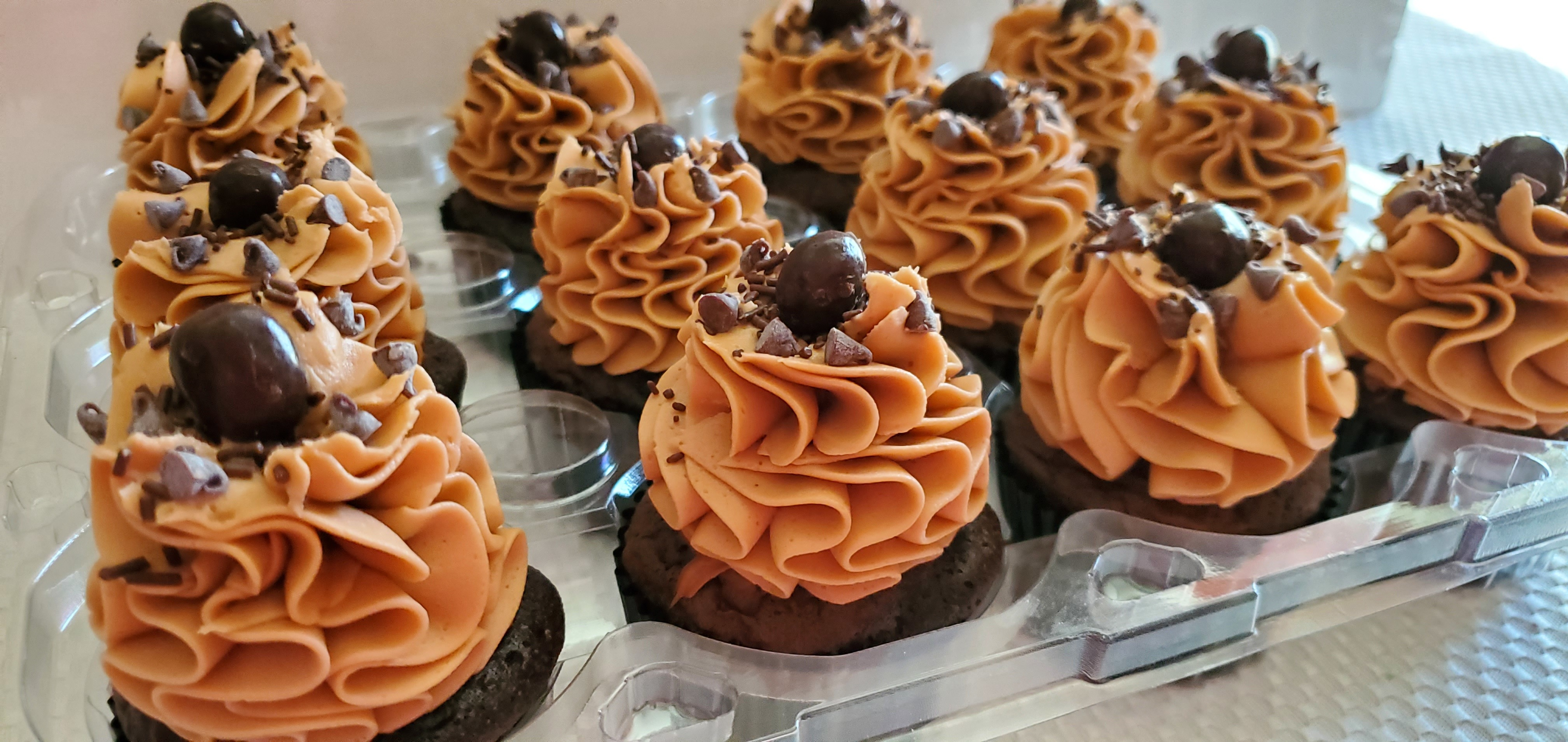 Mocha Mousse Espresso Cupcakes~Robynne Recipe