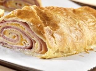 Ham & Cheese Puff Pastry Recipe