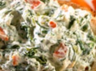 The Kid's Favorite Spinach Dip