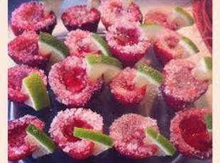 Strawberry Margarita Jell-O Shooters Recipe