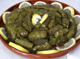 Dolmades  (stuffed grape leaves) Recipe