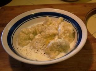 Milk Dumpling Soup
