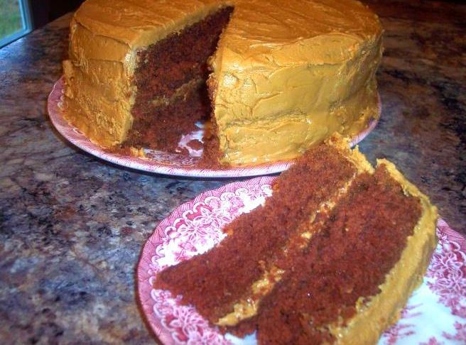 Old Fashioned Brown Mountain Cake Recipe