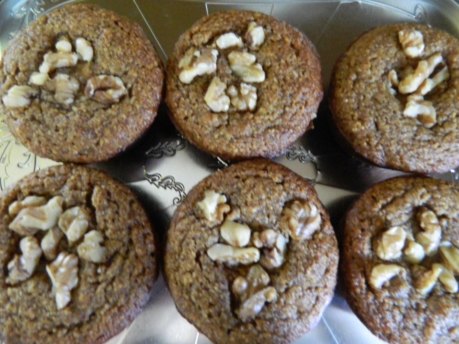 Almond Meal Banana Nut Muffins Recipe