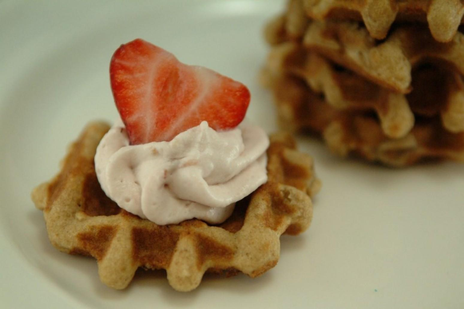 Fruity Waffles Recipe
