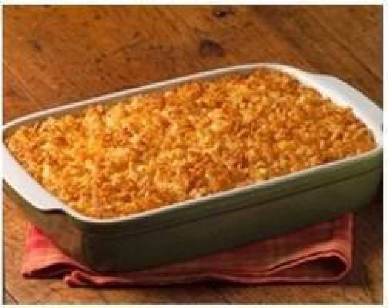 Cheesey Potato Casserole Recipe | Just A Pinch Recipes