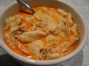 Hungarian Chicken Paprikash*Chicken and dumplings Recipe