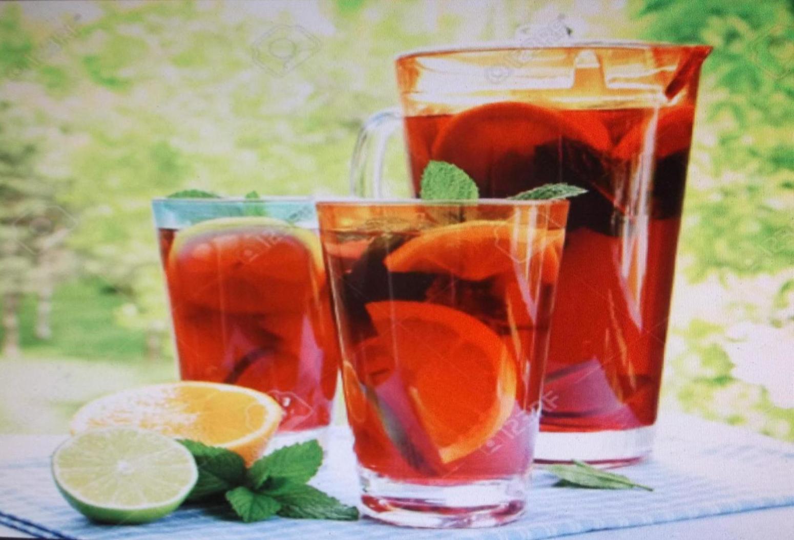 SUMMER  & CITRUS FRUIT PUNCH Recipe