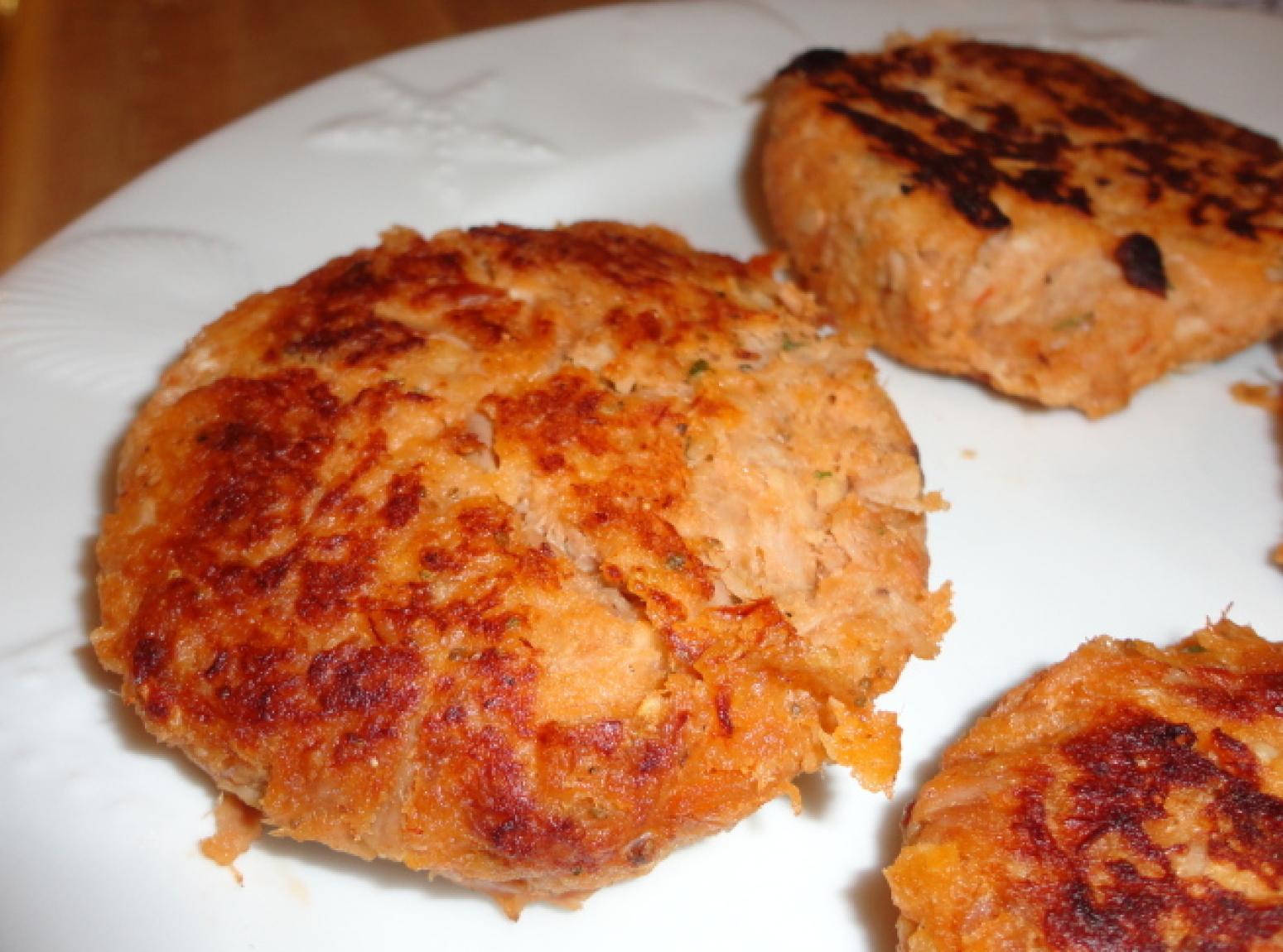 Tuna Burgers Recipe